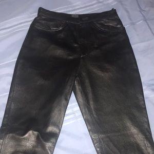 XOXO 100% leather/suede pants